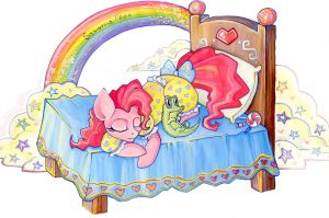 Pinkie Pie in the world  dreams! by FreeSavanna