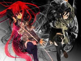 shakugan no shana vs shana 2 by scillia