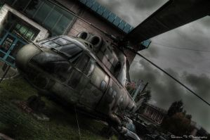 Helicopter by rooteanu