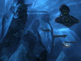 The Blue Umbra's Exile by CYBERDYNE101