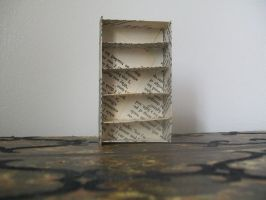 Miniature Bookcase by Autnott