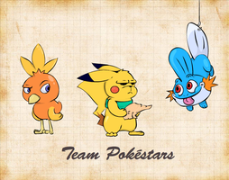 Team Pokestars by Weaponized-Wafflez