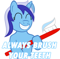 Allways Brush your Teeth by wolfsman2