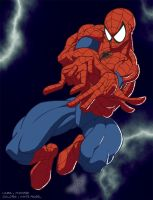 SpiderMan color by White Angel by Micha81