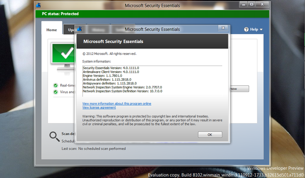 Microsoft Security Essentials Beta by jaycee13