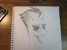 Sexy Spitfire drawing by Sketchy1987