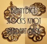 Knot pendant pack by Bunnydict-stock