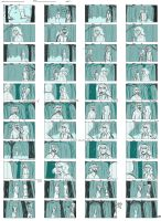 Hanna Rough Storyboards by junketeer