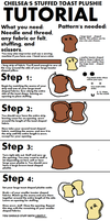 Plushie Toast Tutorial by chelsmith18