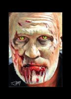 Merle Dixon Sketch Card. by Dr-Horrible