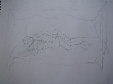 Sketch: Lovemaking by Tindome-Art