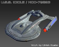 USS ICICLE / NCC-79823 W.I.P.-082 Txtures by ulimann644