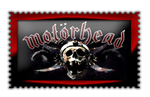 |Motorhead|Stamp| by Scarponi