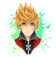 [ Roxas KH2 ] by Nocturnally-Blessed