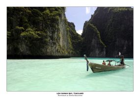 Loh Samah Bay, Thailand by guffy