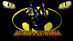 Batman and Catwoman wp by SWFan1977