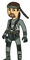Solid Snake by Mighty355
