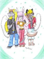 furry characters by dragonrace