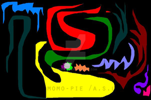 Abstract with Paint 2 by momo-pie