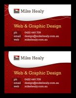 Business Card design by cranial-bore
