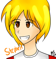 Hey guys OuO Look, it's Stephen! by PixelatedFairy