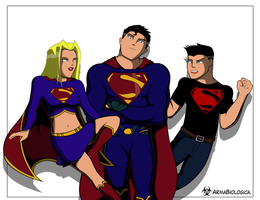 The Super Family by ArmaBiologica