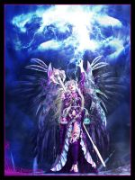 Angelic Lightning Channeler by Lady-Akyashaa