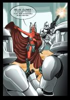 Star Wars - The Shaak Ti test by JeanSebastien-P
