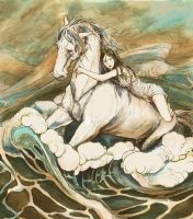 Athansor Rises from the Sea by bluefooted