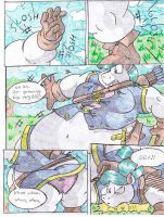Princess Aura Comic. Part 4. by Virus-20