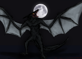 Gyaos, the Shadow of Evil by Pulsarium