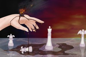 Mother Earth's Chess by spottedhorse