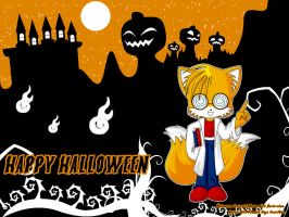 WP Halloween - TAILS - by AnimaGirlDaria-chan