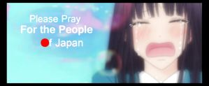 Please Pray for Japan by gamera68