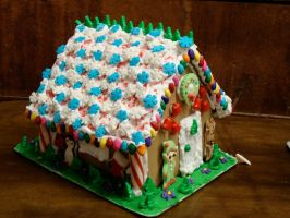 Gingerbread house 2012 by CLPennelly