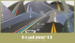 Road png pack #01 by yynx151