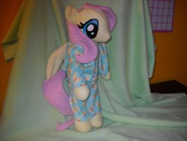 Flutttershy is Ready For Bed by digigirl789