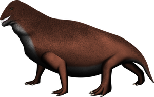 Moschops capensis by brolyeuphyfusion9500