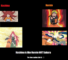 Kushina is NOT like Sakura by lilfluffy
