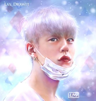 Daehyun colors by LayDrawings