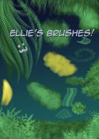 Ellie's Brushes by Zaebrael