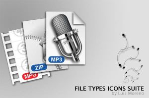 File Type Icons by Mefistus