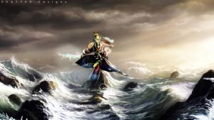 Ao Kuang God of the Eastern Sea by ShatterDesigns