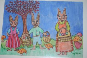 My easter painting by ingeline-art