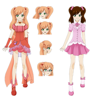 Cure Strawberry redesign by Sweetangel823
