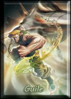 SF x TK Banners -  Guile by soulfenrir