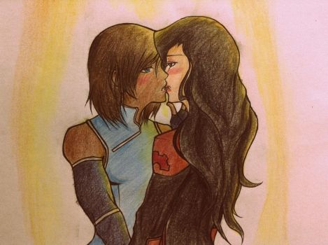 Korrasami end game! My ship is canon! by blabberskidagenius
