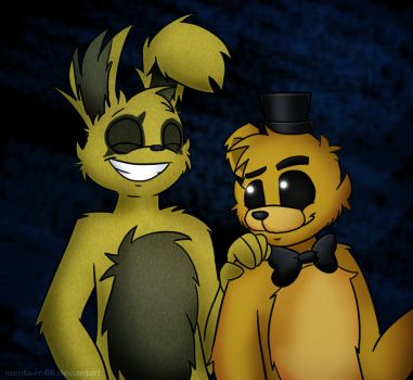 Springtrap with others on thehorrorattraction deviantart