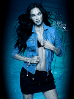 Cyber Megan Fox - PhotoManipulation by kgl-krtos