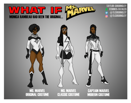 What If - Ms. Marvel Edition by Femmes-Fatales